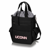 Picnic Time Activo Cooler Tote  University of Connecticut Huskies Black w/ Grey