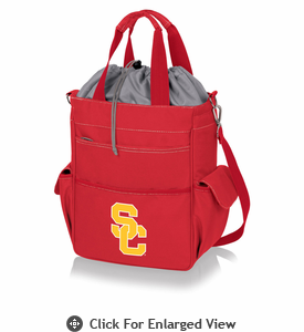 Picnic Time Activo Cooler Tote  USC Trojans Red