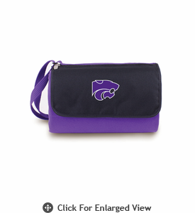 Picnic Time Blanket Tote - Purple Kansas State Wildcats