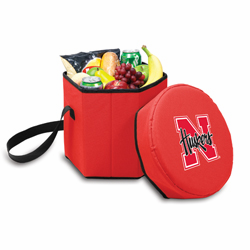 Picnic Time Bongo Cooler 12 Qt. Red University of Nebraska Cornhuskers