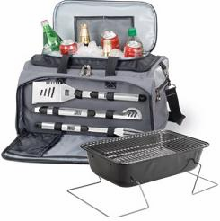 Picnic Time™ Buccaneer Tailgating Cooler With 3 Piece BBQ Set