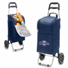 Picnic Time Cart Cooler - Navy Blue Milwaukee Brewers