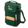 Picnic Time Duet Embroidered - Hunter Green University of Miami Hurricanes