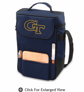 Picnic Time Duet Embroidered - Navy Blue Georgia Tech Yellow Jackets