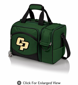 Picnic Time Malibu Embroidered -  Green Cal Poly Mustangs