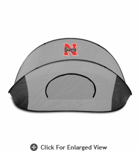 Picnic Time Manta Sun Shelter University of Nebraska Cornhuskers - Grey/Black