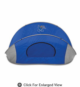 Picnic Time Manta Sun Shelter University of Memphis Tigers - Blue