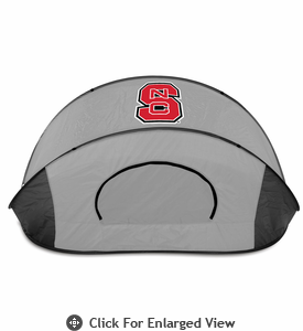 Picnic Time Manta Sun Shelter North Carolina State University Wolfpack - Grey/Black