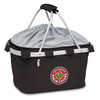 Picnic Time Metro Basket Embroidered- Black University of Louisiana Ragin Cajuns