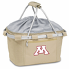 Picnic Time Metro Basket Embroidered- Tan University of Minnesota Golden Gophers
