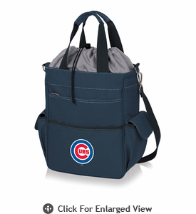 Picnic Time MLB - Activo Cooler Tote  Chicago Cubs Navy Blue
