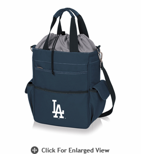 Picnic Time MLB - Activo Cooler Tote  Los Angeles Dodgers Navy Blue