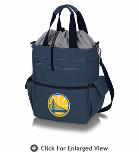 Picnic Time NBA - Activo Cooler Tote Golden State Warriors Navy Blue