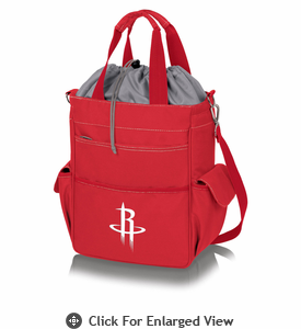 Picnic Time NBA - Activo Cooler Tote  Houston Rockets Red
