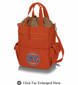 Picnic Time NBA - Activo Cooler Tote  New York Knicks Orange