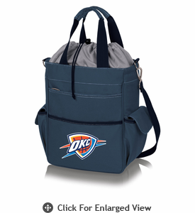 Picnic Time NBA - Activo Cooler Tote Oklahoma City Thunder Navy Blue
