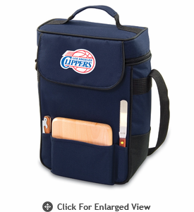 Picnic Time NBA - Navy Blue Duet Los Angeles Clippers