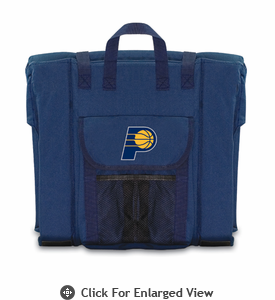 Picnic Time NBA - Navy Blue Stadium Seat Indiana Pacers