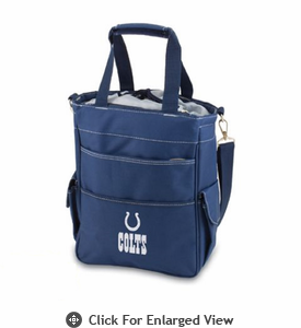 Picnic Time NFL - Activo Cooler Tote Indianapolis Colts Navy Blue
