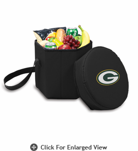 Picnic Time NFL - Black Bongo Cooler Green Bay Packers