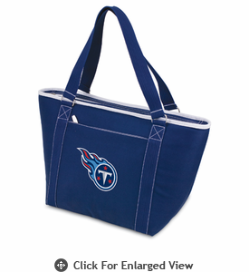 Picnic Time NFL - Navy Blue Topanga Cooler Tote Tennessee Titans