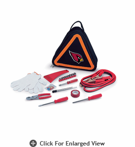Picnic Time NFL - Roadside Emergency Kit Arizona Cardinals