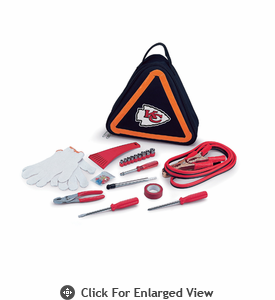 Picnic Time NFL - Roadside Emergency Kit Kansas City Chiefs