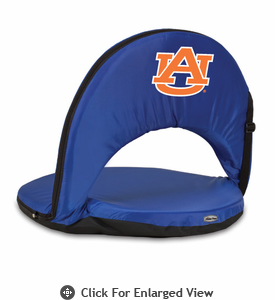 Picnic Time Oniva Seat Sport - Navy Blue Auburn University Tigers