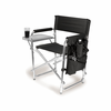 Picnic Time Sports Chair - Black Digital Print Southern Miss Golden Eagles