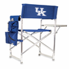 Picnic Time Sports Chair - Navy Blue Digital Print University of Kentucky Wildcats