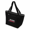 Picnic Time Topanga Embroidered - Black Tote Miami University Red Hawks