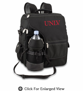 Picnic Time Turismo Black - Embroidered University of Nevada LV Rebels