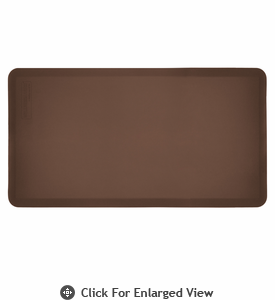 Wellness Mats 4' Fitness Mat Brown
