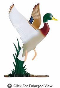 """Whitehall 30"""" Duck Weathervane Rooftop Color"""