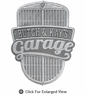 Whitehall Car Grille Garage Plaques