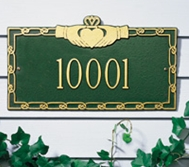Whitehall Claddagh Standard Wall Plaque One Line