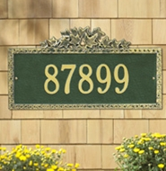 Whitehall Ivy Standard Wall Plaque One Line