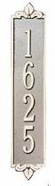 Whitehall Lyon Vertical Estate Wall Plaque One Line