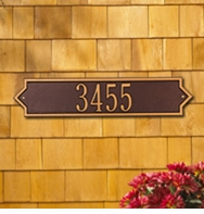 Whitehall Norfolk Horizontal Standard Wall Plaque Two Lines