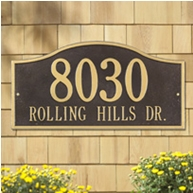 Whitehall Rolling Hills Plaques Standard Wall Two Line