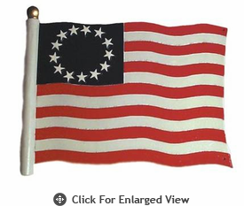 """Whitehall  Rooftop or Garden 30"""" Liberty Flag Weathervanes"""