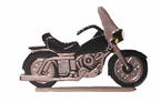 """Whitehall Rooftop or Garden 30"""" Motorcycle Weathervanes"""