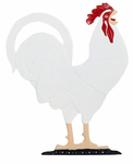 """Whitehall   Rooftop or Garden  30"""" Rooster Weathervanes"""