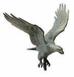 """Whitehall  Traditional Directions Collection  30"""" Full-Bodied  Eagle Weathervanes"""