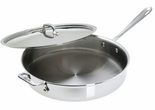 All-Clad 6 Quart Stainless Saute Pan with Lid