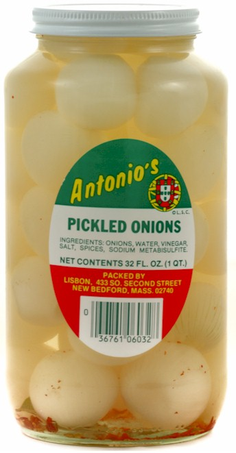 Antonio's Pickled Onions 32 oz