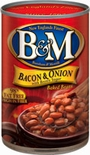 B & M Baked Beans with Bacon and Onion 28 oz.