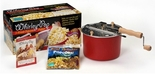 Barn Red Whirley-Pop 6-Qt Popcorn Popper With All Inclusive Popping Kit