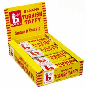 Bonomo Turkish Taffy Banana 24/1.5 oz. Box