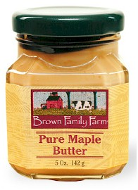 * Brown Family Farm Pure Maple Butter 5 oz.